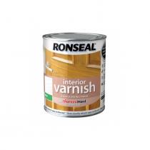 Ronseal Interior Diamond Hard Varnish - White Ash  (Matt) 250ml