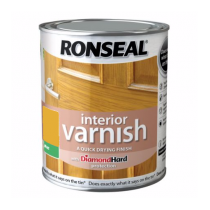 Ronseal Diamond Hard Interior Varnish - Clear (Matt) 750ml