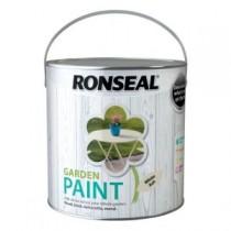 Ronseal Garden Paint - White Ash - 2.5L