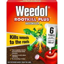 Weedol Rootkill Plus Weedkiller - 6 Tubes