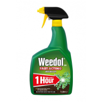 Weedol Fast Acting Ready to Use Weedkiller - 1L