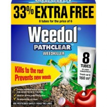 Weedol Pathclear - (6 Tubes + 2 Free) 160m²