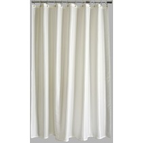 Aqualona 41093 Polyester Solitaire Shower Curtain - Cream - 180 x 180cm