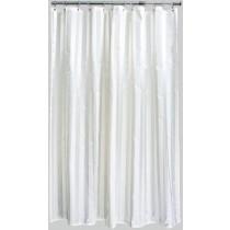 Aqualona 42069 Polyester Cream Oxford Shower Curtain - 180 x 180cm