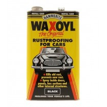 Hammerite Waxoyl Rustproofing Treatment Refill Can - Black - 5L