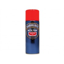 Hammerite Direct To Rust Aerosol - Smooth Red - 400ml