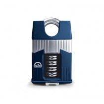 Squire Warrior 55C Combination Padlock - 55mm - Closed Shackle