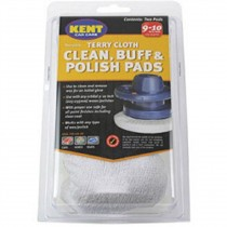 Kent Q8039 Two Terry Cloth Clean - Buff & Polish Pads