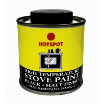 Hotspot Stove Paint Tin (Black Matt) 200ml