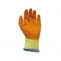 Scan Knitshell Latex Palm Gloves - L