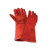 Scan Welder's Gauntlets - Red - L