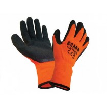 Scan Thermal Latex Coated Gloves - L