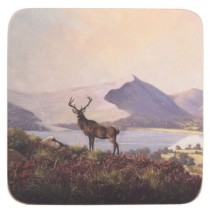 Creative Tops Highland Stag Premium Coasters - Pack of 6