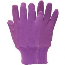 Briers B0132j Jersey Mini Grip Gloves - Lavender (M)