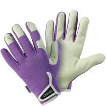 Briers B0648 Lady Gardener Gloves - Lavender (M)