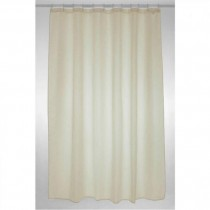 Blue Canyon SC300CR Polyester Cream Shower Curtain - 180 x 180CM