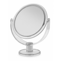 Blue Canyon BA2019 Free Standing Round Mirror - Clear