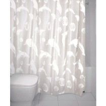 Blue Canyon SC416 Peva Dolphin Shower Curtain - 180 x 180