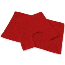 Blue Canyon 105/DR Premier Bath Mat Set 2 Piece - Deep Red
