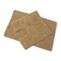 Blue Canyon 105/LA Premier Bath Mat Set 2 Piece - WALNUT LATTE