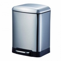 Blue Canyon BA2006CH OSLO Soft Close Pedal Bin - Brushed Chrome - 6L