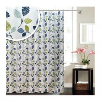 Blue Canyon SC163 Polyester Botanic Shower Curtain - 180 x 180CM