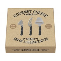 Creative tops Gourmet Cheese Knives Set in Gift Box - Set of 3