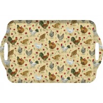 Creative Tops Everyday Home Chicken Handled Tray - Large