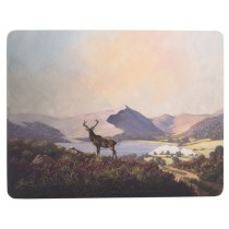 Creative Tops Highland Stag Premium Placemats - Pack of 6
