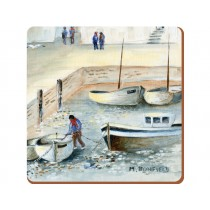 Creative Tops Cornish Harbour Premium Coasters - Pack of 6