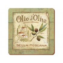 Creative Tops Olio D Oliva Premium Coasters - Pack of 6