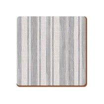 Creative Tops Everyday Home Textured Stripe Coasters Grey - Pack of 4