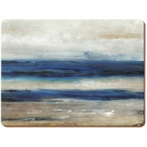 Creative Tops Blue Absract Premium Placemats - Pack of 6