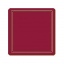 Creative Tops Classic Premium Coasters - Red - Pack of 6