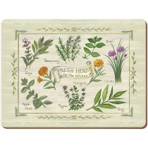 Creative Tops Fresh Herbs Premium Placemats - Pack of 6