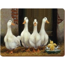 Creative Tops Duck Bath Premium Placemats - Pack of 6