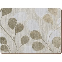 Creative Tops Everyday Home Neutral Leaves Placemats - Pack of 4