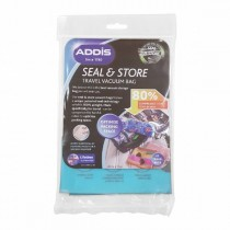 Addis Seal & Store Travel Vacuum Bag (Set of 2) Clear