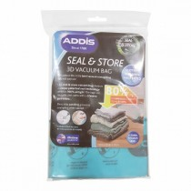 Addis Seal & Store 3D Vacuum Bag - Clear