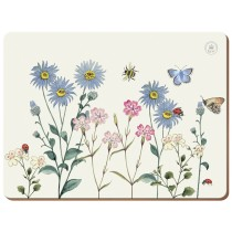Creative Tops Kew Gardens Meadow Bugs Premium Placemats - Pack of 6