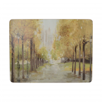 Creative Tops Central Park Premium Placemats - Pack of 6