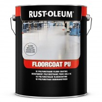 Rust-Oleum 7282 Floorcoat PU (Gloss) Heavy Duty Floor Paint - Steel Grey - 5L