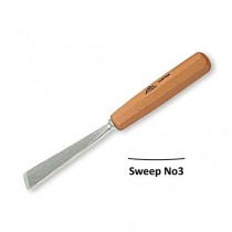 Stubai Straight Flat Carving Gouges No3 Sweep - 20mm