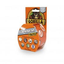 Gorilla Clear Repair Tape - Clear - 8.2m