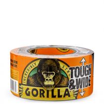Gorilla Adhesive Tape - Black  - 73mm x 27m