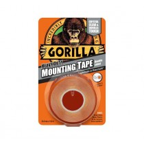 Gorilla Heavy Duty Mounting Tape - Clear - 1.5m