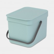Brabantia (109645) Sort & Go Waste Bin 6L - Mint