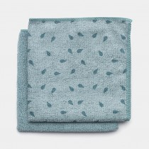 Brabantia (117701) Microfibre Dish Cloths - Mint - 2 Pack