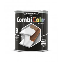 Rust-Oleum 7315 Combicolor (Gloss) Metal Paint - Aluminium White - 750ml
