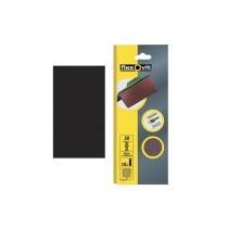 Flexovit 1/2 Sanding Sheets Orbital - 115mm x 280 mm - Plain Fine 120g (10)